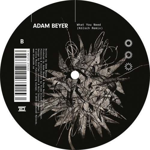 Adam Beyer/WHAT YOU NEED (KOLSCH RX) 12""