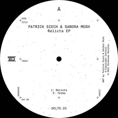 "Patrick Siech & Sandra Mosh/RELICTA 12"""