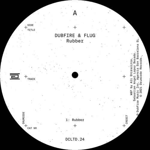 "Dubfire & Flug/RUBBER 12"""