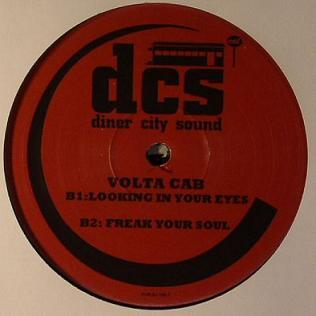 "Volta Cab/DINER CITY SOUND 2 12"""