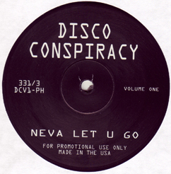 Bill Hardy/DISCO CONSPIRACY 12""