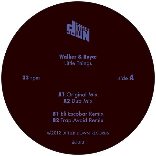 """Walker & Royce/LITTLE THINGS 12"""""""