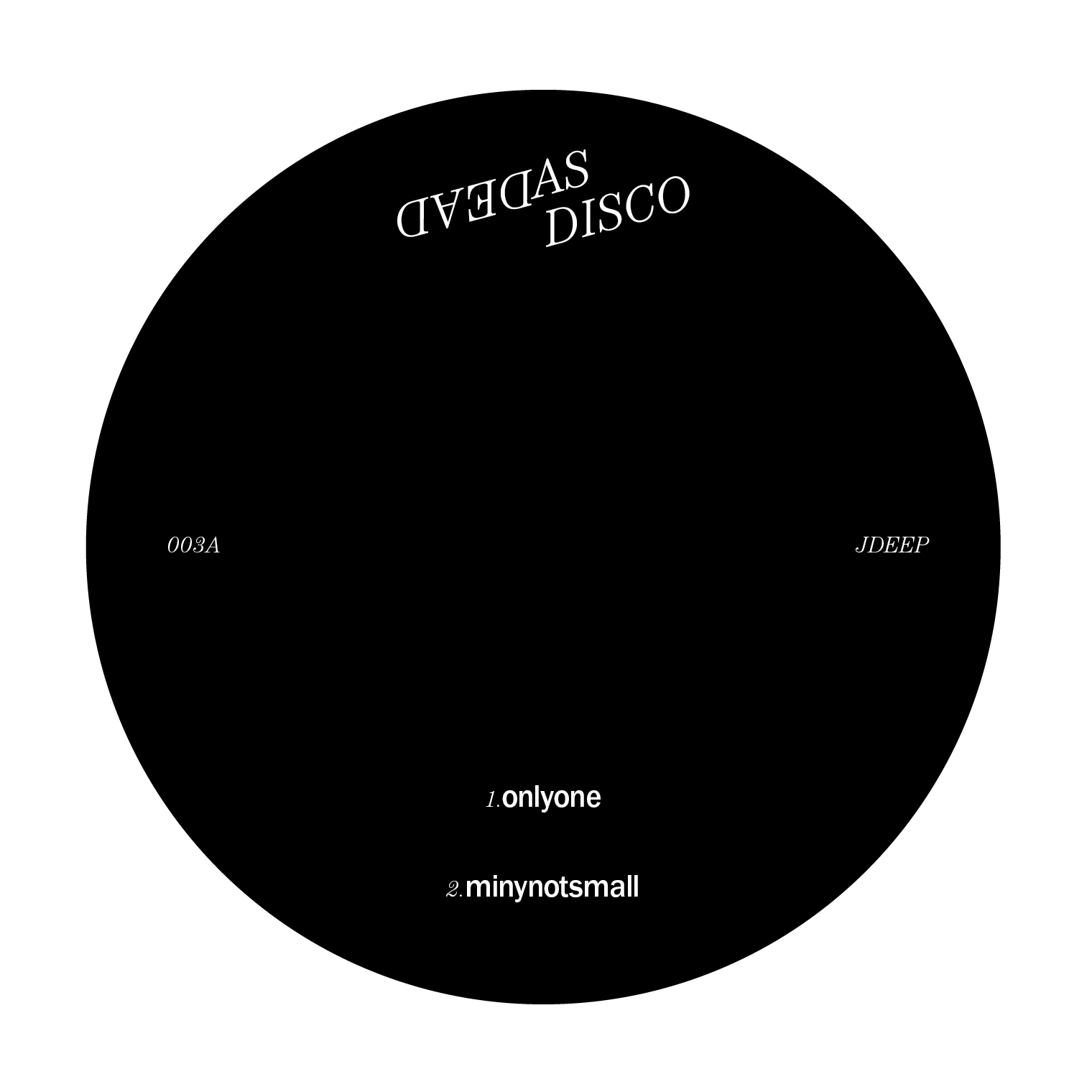 JDeep & DCastillo/DEAD AS DISCO EP#3 12""