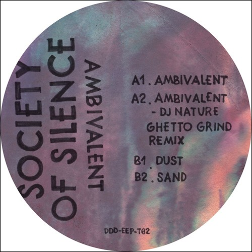 Society Of Silence/AMBIVALENT 12""