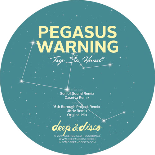 Pegasus Warming/TRY SO HARD 12""