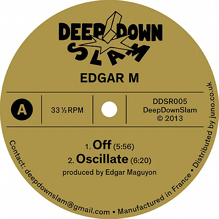 "Edgar M/OFF EP 12"""