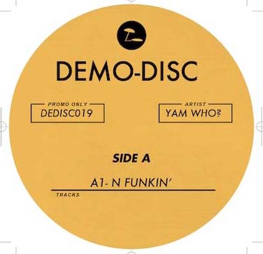 Yam Who/DEMO DISC 19 12""