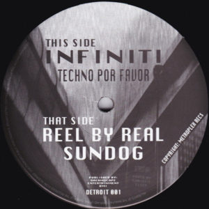 Infiniti/TECHNO POR FAVOR 12""