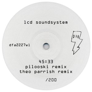 LCD Soundsystem/45:33 RMXS WHITE OUT 12""