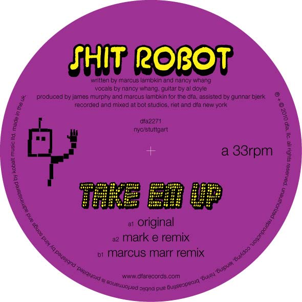 Shit Robot/TAKE EM UP 12""