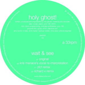 Holy Ghost!/WAIT & SEE 12""