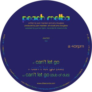 Peach Melba/CAN'T LET GO 12""