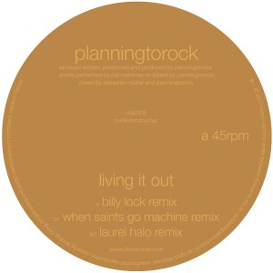 Planningtorock/LIVING IT OUT 12""