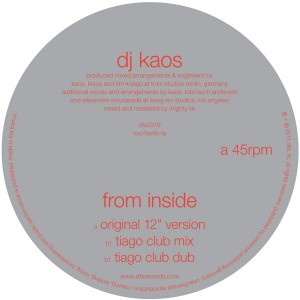 DJ Kaos/FROM INSIDE 12""