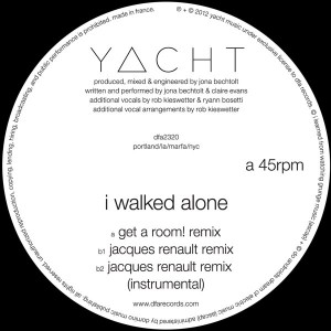 Yacht/I WALKED ALONE - J.RENAULT RMX 12""