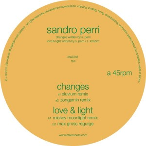 Sandro Perri/CHANGES + LOVE & LIGHT 12""