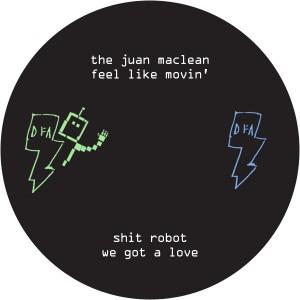 "Shit Robot & Juan Maclean/SPLIT 12"""