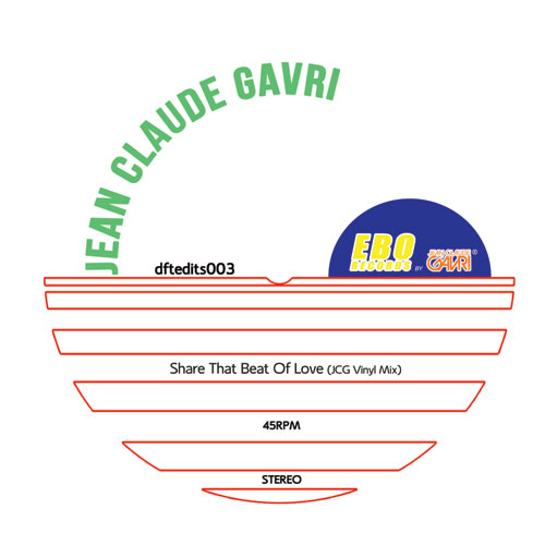 Jean Claude Gavri/SHARE THE BEAT... 12""