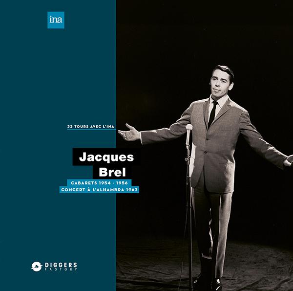 Jacques Brel/CABARETS 1954-1956 LP
