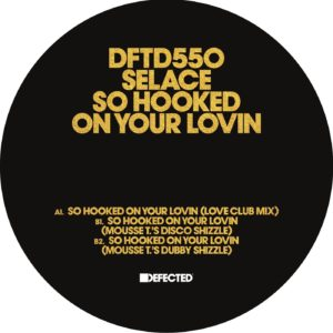 """Selace/SO HOOKED ON YOUR LOVIN 12"""""""