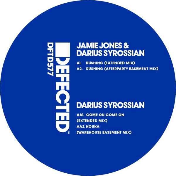 Jamie Jones & D. Syrossian/RUSHING 12""