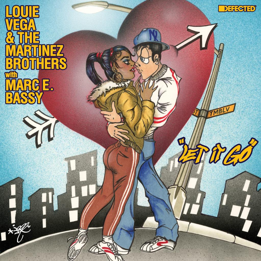 "Louie Vega & Martinez Bros/DFCTD RMX 12"""