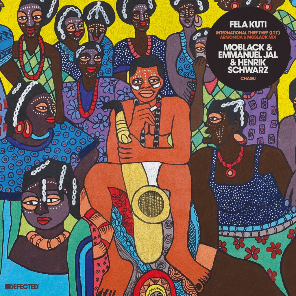 "Fela Kuti/I.T.T. (A & M REMIX) 12"""