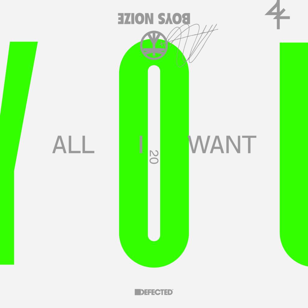 """Boys Noize & Jake Shears/ALL I WANT 12"""""""