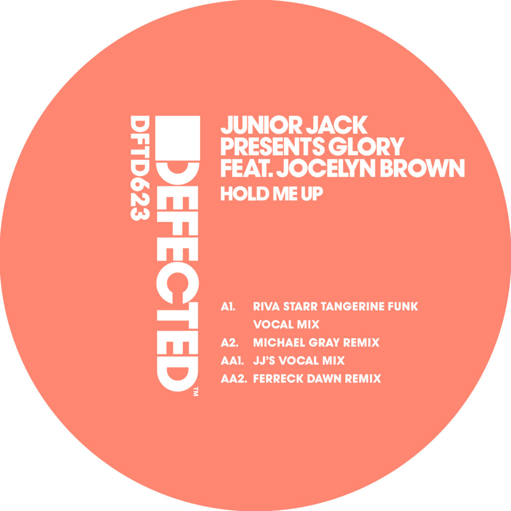 "Glory ft. Jocelyn Brown/HOLD ME UP 12"""