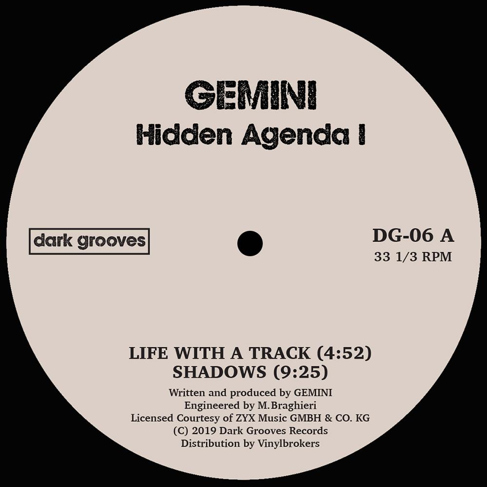 """Gemini/HIDDEN AGENDA 12"""""""