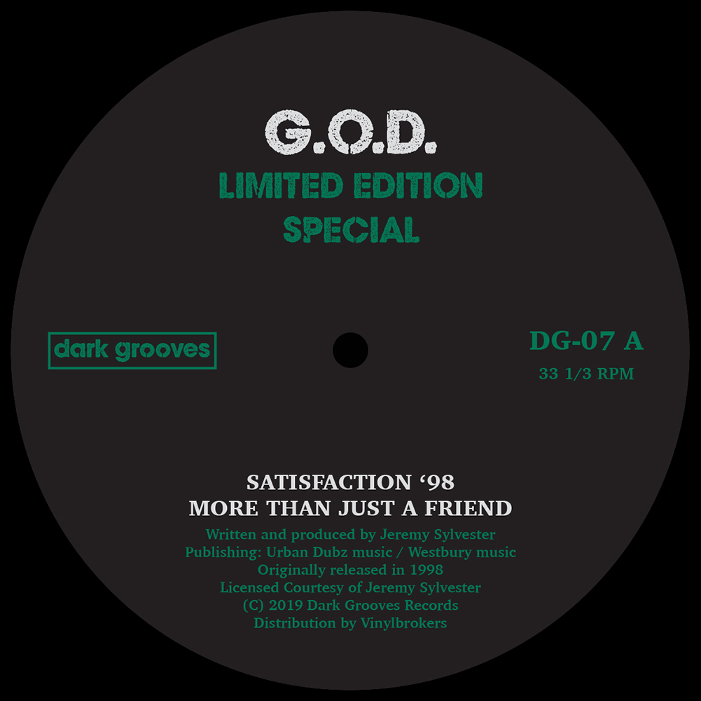"""G.O.D./LIMITED EDITION SPECIAL 12"""""""