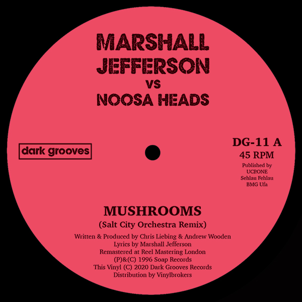 Marshall Jefferson/MUSHROOMS 12""