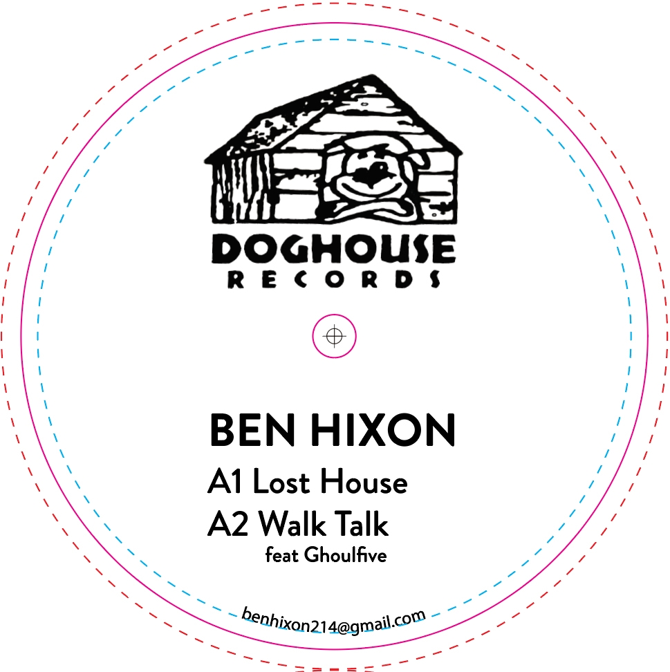 Ben Hixon/LOST HOUSE EP 12""