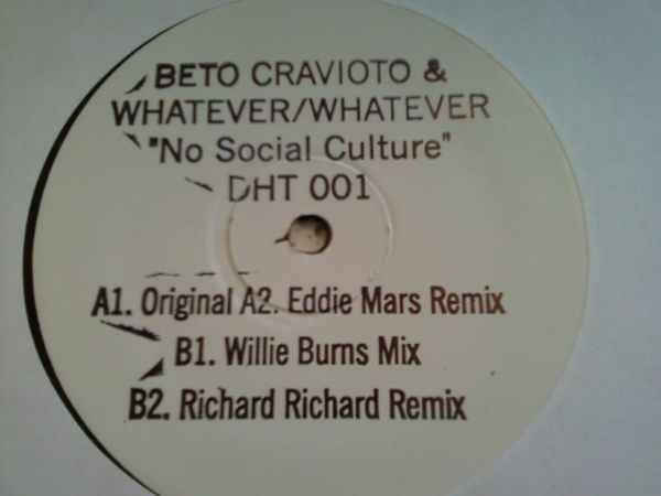 B. Cravioto & Whatever-Whatever/NSC 12""