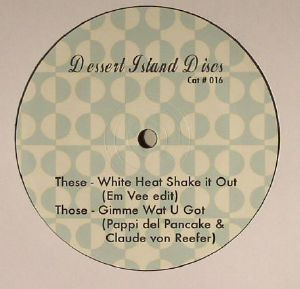 Em Vee/WHITE HEAT SHAKE IT OUT 12""