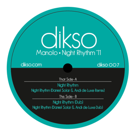 Manolo/NIGHT RHYTHM '11 12""