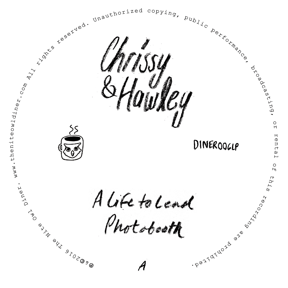 Chrissy & Hawley/CHRISSY & HAWLEY TAPE