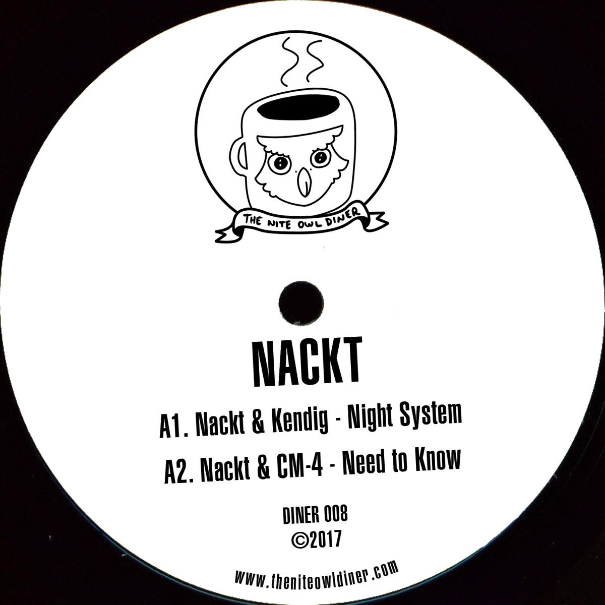 """Nackt ft Kendig & CM4/NIGHT SYSTEM 12"""""""