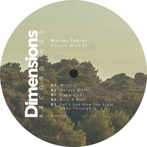 Marcos Cabral/NATURE WALK EP 12""
