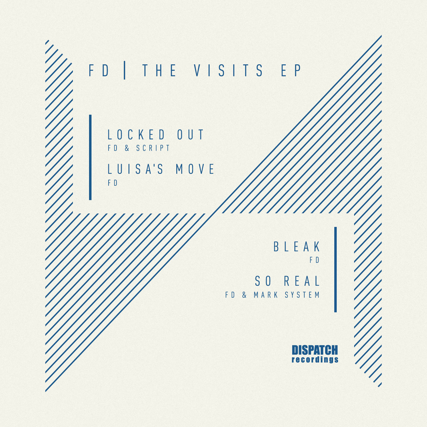 FD/THE VISITS EP D12""