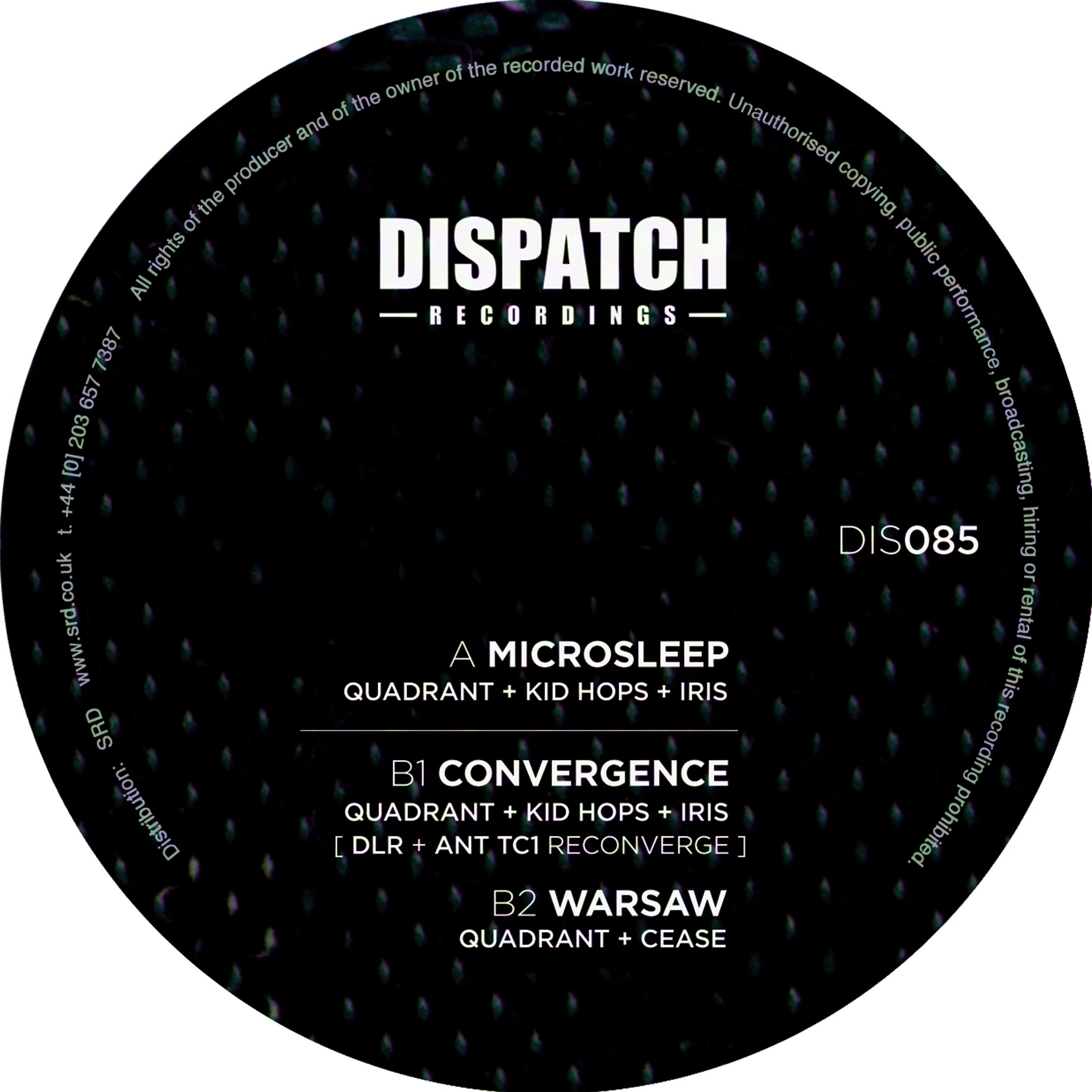 """Quadrant/MICROSLEEP EP 12"""""""