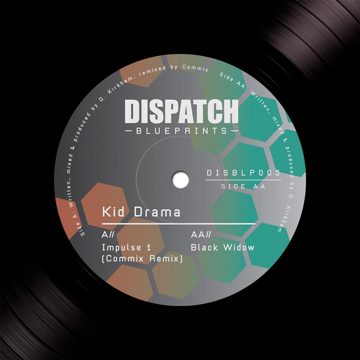 "Kid Drama/IMPULSE (COMMIX REMIX) 12"""