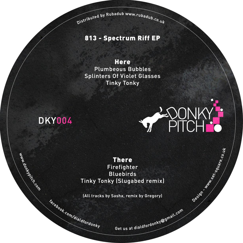 """813/SPECTRUM RIFF EP 12"""""""