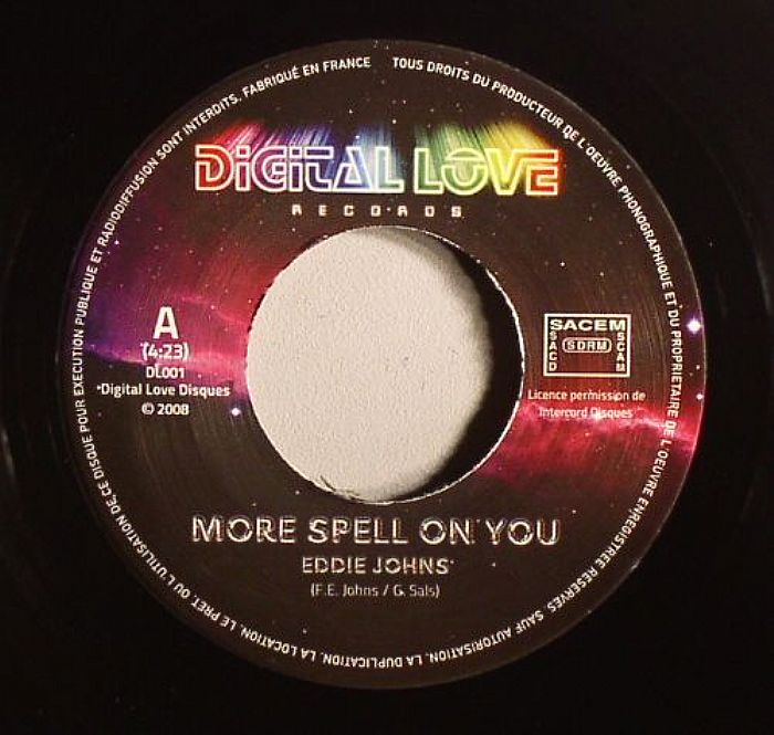 Eddie Johns/MORE SPELL ON YOU 7""