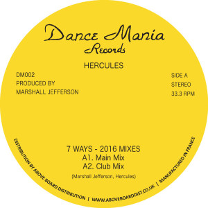 Hercules/7 WAYS (2016 REMIXES) 12""
