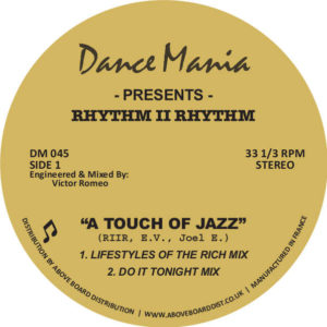 Rhythm II Rhythm/A TOUCH OF JAZZ 12""