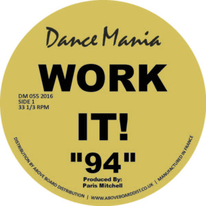 Parris Mitchell/WORK IT! 12""