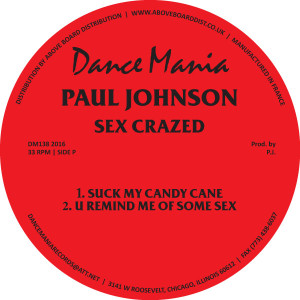 Paul Johnson/SEX CRAZED 12""