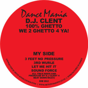 DJ Clent/100% GHETTO 12""
