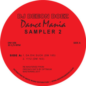 DJ Deeon/DOEZ DANCE MANIA SAMPLER 2 12""